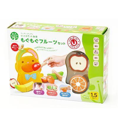 Natural Living: \\點數開始更加3倍的+200日元優惠券/過家家木制WOODY PUDDY(uddipuddi)的食育連水果安排樹的玩具一起閉 ...