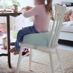 Baby Bjorn Booster Chair Blue Accent With Arms Natural Living Regular Shop Babybjorn Seat White