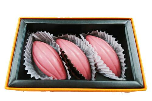 【楽天市場】ラ・ネージュ 「話題の ルビー ショコラ 」 9g×3個 ギフト 特選:ネットキング