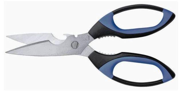 kitchen scissors laminate countertop ohishi co ltd 克里斯尔 德国 厨房剪刀为伟大的蓝色图案骨切割 线 kretzer 厨房剪蓝色抗感冒软握