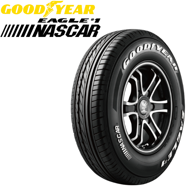 GOODYEAR タイヤ NASCAR 195/80R15 195 GOODYEAR タイヤ/80R15 195/80R15 195/80R15インチ離島·沖縄:配送不可:オプショナル ...