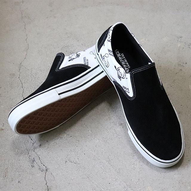 Black Suede Slip On Sneakers