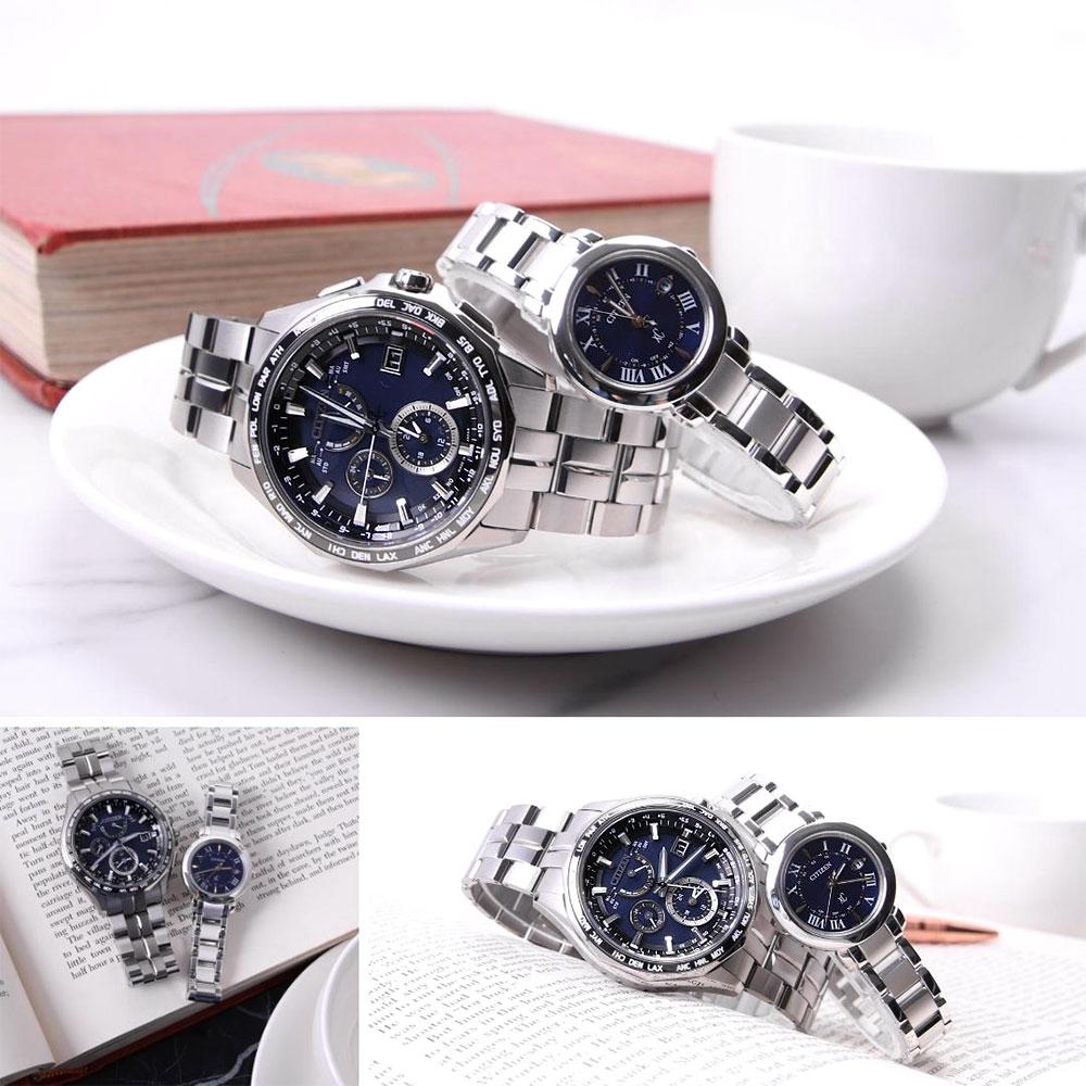 【楽天市場】【ペア価格】ペアウォッチ シチズン 腕時計 CITIZEN 時計 電池交換不要 クロスシー XC アテッサ ...