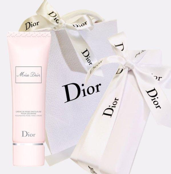 Dior ハンドクリーム プレゼント