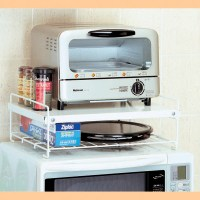 Toaster Oven And Microwave Stand  BestMicrowave
