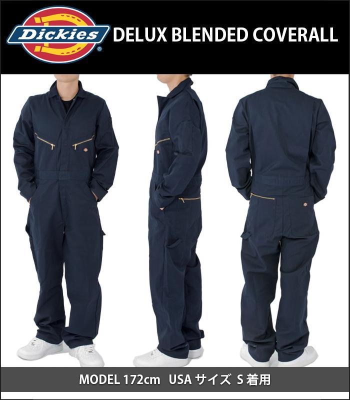 PLAYERZ: DICKIES Dickies長袖子覆蓋物全部間接間接工作服S.M.L.XL.2XL 48799男子的女子的糖果舵打扮的漂亮的一體式 ...