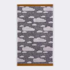 Gray Kitchen Towels Rustic Furniture Plottokyo Donna Wilson 唐娜 威爾遜手毛巾雨空中灰色 陰雲 花紋的棉布 威爾遜 手毛巾雨空中灰色