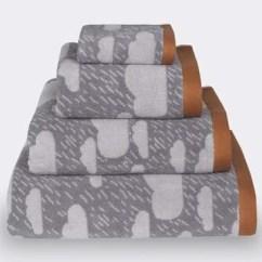 Gray Kitchen Towels Renovating Plottokyo Donna Wilson 唐娜 威尔逊手毛巾雨空中灰色 阴云 花纹的棉布 各donna 威尔逊 毛巾雨空中灰色种