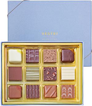 【楽天市場】VESTRI 【Praline 12 / プラリネ12】 イタリア チョコレート ギフト 贈り物 ...