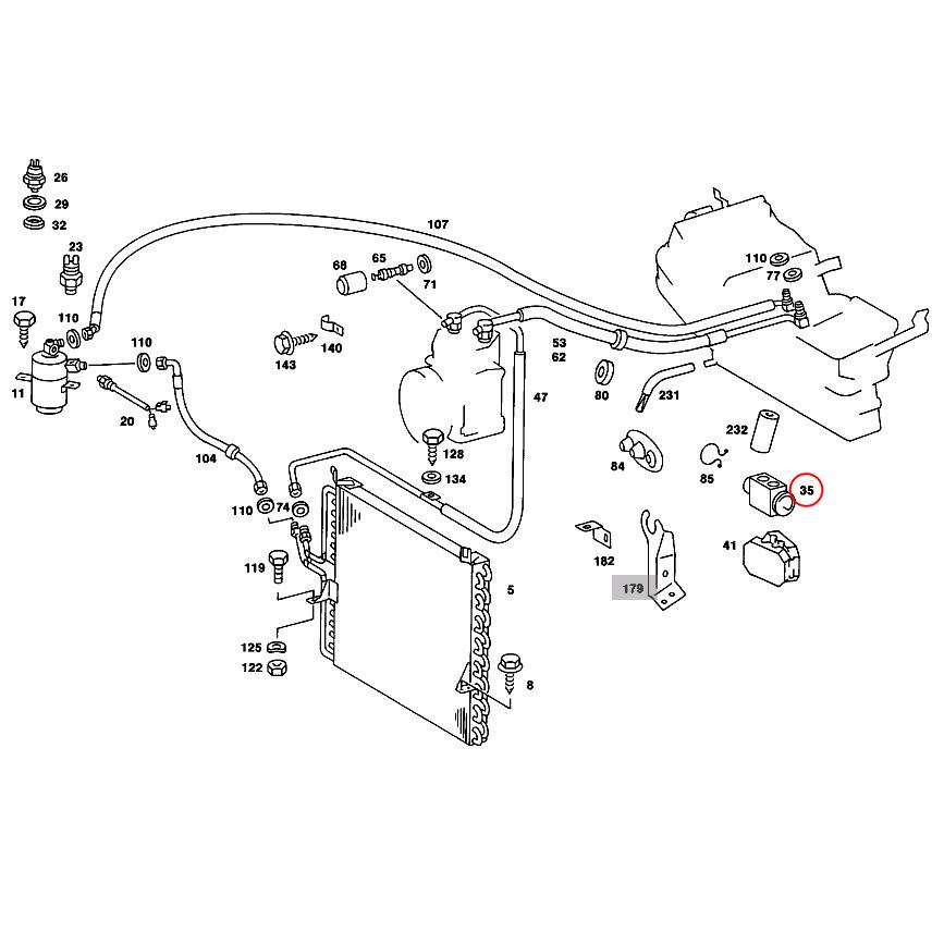 【楽天市場】URO製 ベンツ W123 エキスパンションバルブ 1268300284 1268300384 200