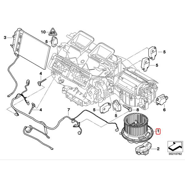 【楽天市場】BMW 1シリーズ E87 E88 E82 ブロアモーター/ブロワモーター 右ハンドル用