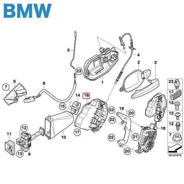 【楽天市場】純正 BMW 1シリーズ E87 F20 リヤ/リア ドアロックアクチュエーター 1個 右