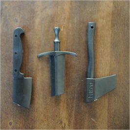 kitchen knife magnet large island ideas reptile 磁铁厨刀 斧 剑3 对磁性谋杀刀斧磁铁快速消费品货物文具军事 对磁性谋杀刀斧磁铁快速消费品