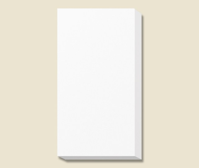 Gift Box White Solid Color Box Esprit Towel  For 10 Cards On G Box 43