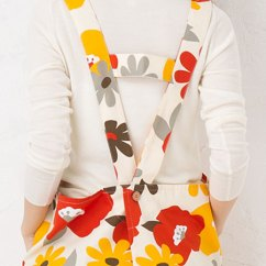 Cute Kitchen Aprons Window Treatment Ideas For Rupola H Vivid Flower Cotton 100 Made In Japan Bold Print Eye Catching Big Floral Apron It Is A Soothing Colors With Tone Little Glitz Difficult To Shoulder Strap Also Slipped As Tying The