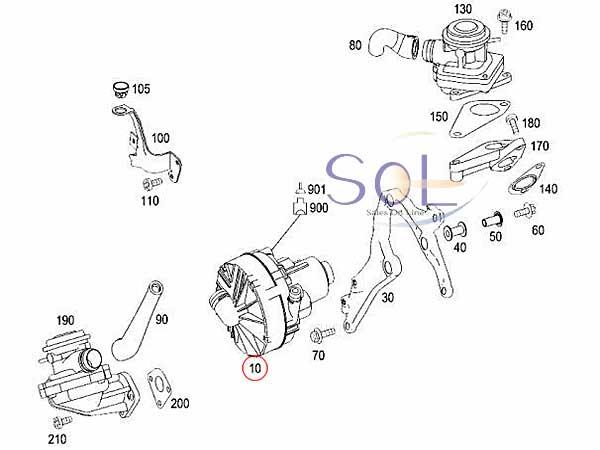 【楽天市場】ベンツ W221 R230 R171 エアポンプ(リレー別売り※同時交換して下さい) S350 S500