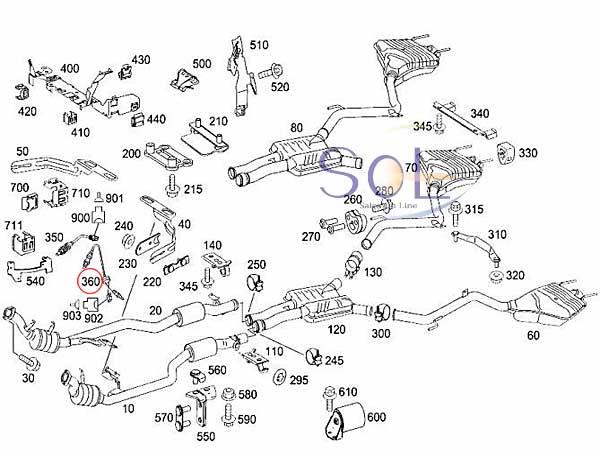 【楽天市場】ベンツ W204 W164 ラムダセンサー O2センサー C250 C300 C350 ML350