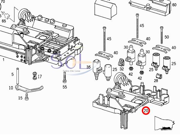 【楽天市場】ベンツ W202 W203 W204 ATミッション エレクトリックプレート コンダクタープレート
