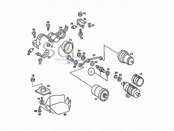 【楽天市場】ベンツ W124 W210 R129 フューエルポンプ 燃料ポンプ ガソリンポンプ E230 E280