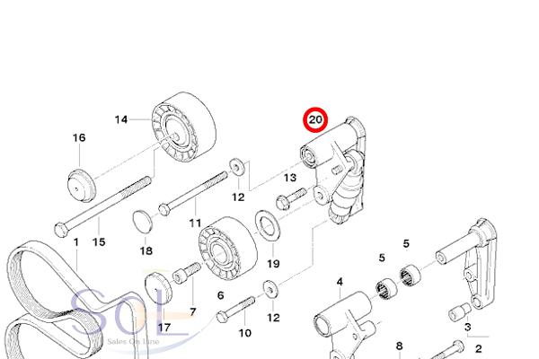 【楽天市場】BMW E36 E46 E34 E39 ベルトテンショナー 油圧式変換キット 320i 323i