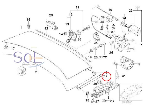 【楽天市場】BMW E39 リア トランクダンパー 左右セット 525i 528i 530i 540i M5