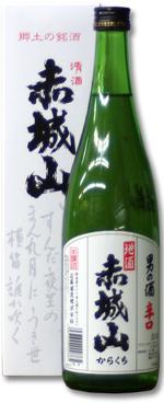 【楽天市場】赤城山 男の酒 辛口 720ml お酒 日本酒 お中元 お ...
