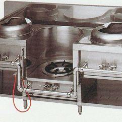 Kitchen Machine Cabinet Clearance Sanseidou Industrial 中华范围 丸善 Itame 汤 面厨房机器烹调机器 面厨房机器烹调机器mrs 103c W1750 D750 H720 Mm