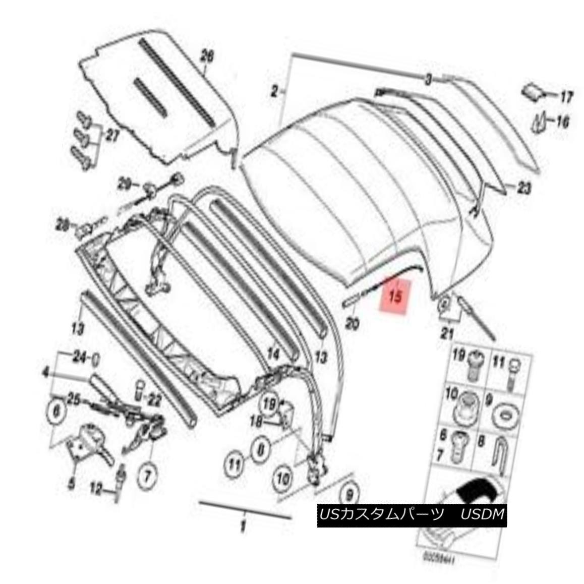 【楽天市場】幌・ソフトトップ Genuine BMW Z3 Roadster Rooftop Tension
