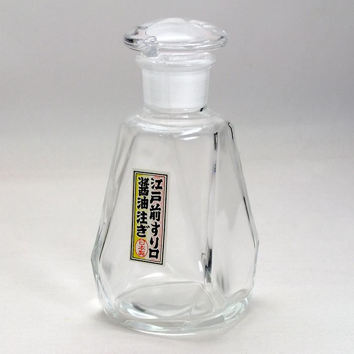 GLASS BOTTLE SHOP | 日本樂天市場: 醬油瓶(大) WA-417 sauce bottle