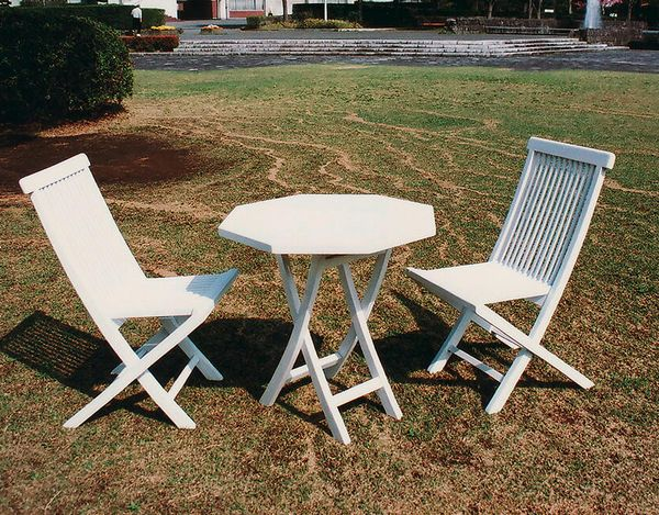 foldable table and chairs garden antique rocking chair value select tool shop white folding tables 3 piece set 28133t28132 jpg