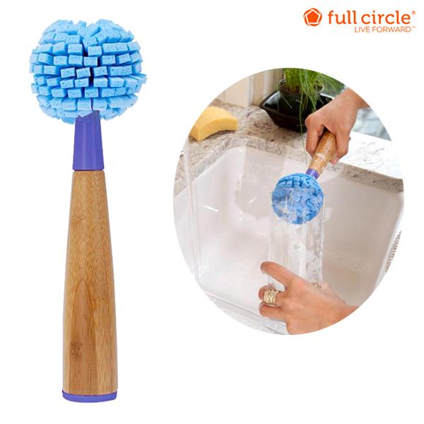 full circle kitchen brush shelving units smart bamboo glass cleaner 10 fs4gm
