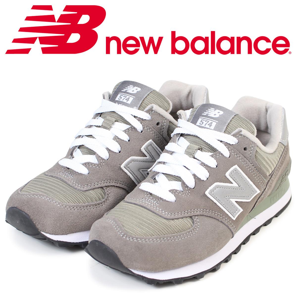SneaK Online Shop: 紐巴倫new balance 574女子的男子的運動鞋W574GS B懷斯D懷斯灰色 | 日本樂天市場