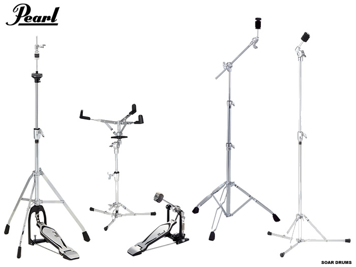 SOAR SOUND: Pearl / Pearl drum kit for stand hardware set