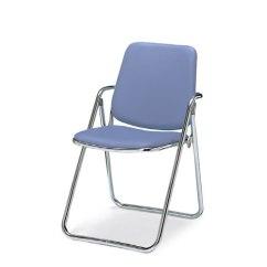 Folding Chair Legs Mats For Carpet Soho Barneys Steel Vinyl Leather Kokuyo Co Ltd Cf M28