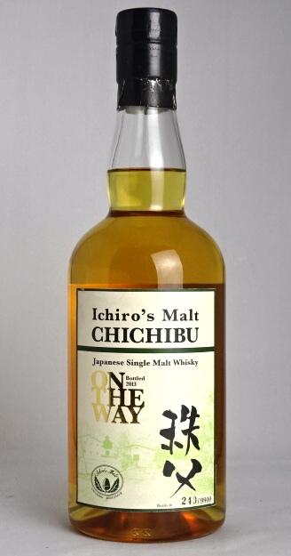 Liquor store SPANA: 一郎麥芽秩父ON THE WAY 2013 700ml 58.5度Ichiro's Malt CHICHIBU Japanese Single Malt Whisky ON THE WAY Bottled 2013 ...