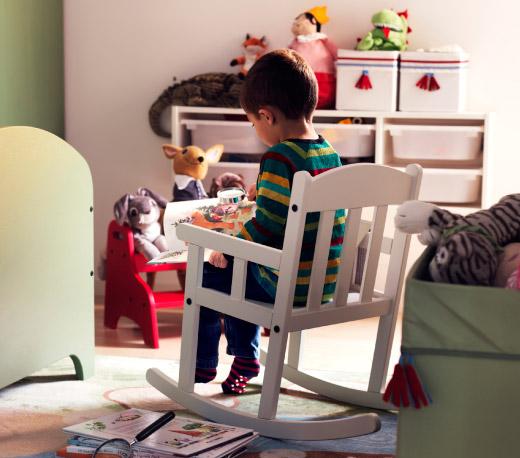ikea white rocking chair woven spw rakuten ichiba store sundvik