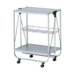 Kitchen Serving Cart Remove Grease Buildup From Cabinets Sugartime 有可折叠的厨房手推车厨房手推车配餐服务手推车抽屉的配餐推 可折叠的厨房手推车