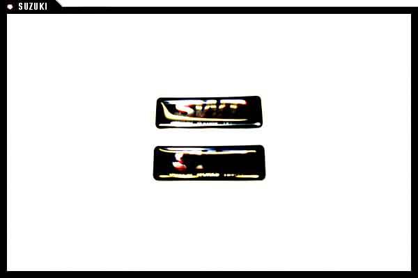 suzuki motors: Wagon R SWT emblem SWT RR Suzuki genuine