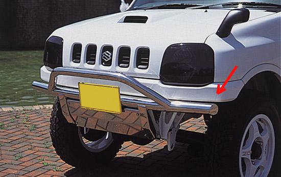 Suzysports Suzuki Jimny Jb23w Rex R Frp Front Bumper