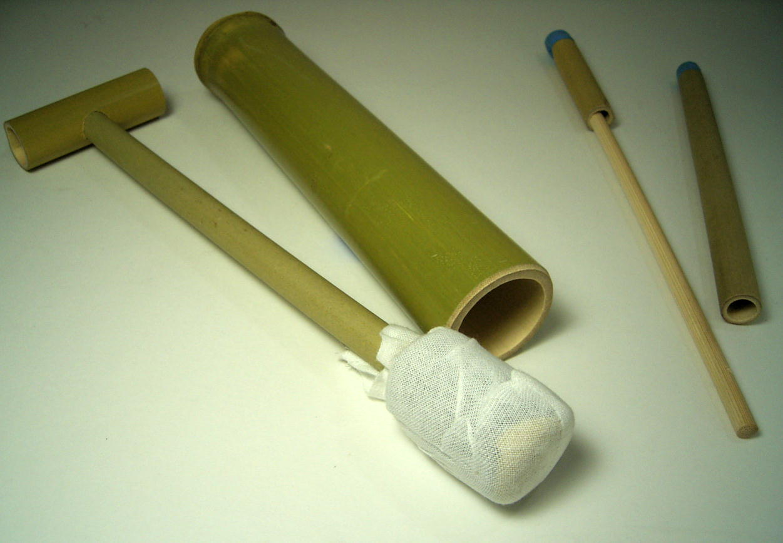takenomise: 竹玩具槍和紙鉄砲設置 ~   日本樂天市場