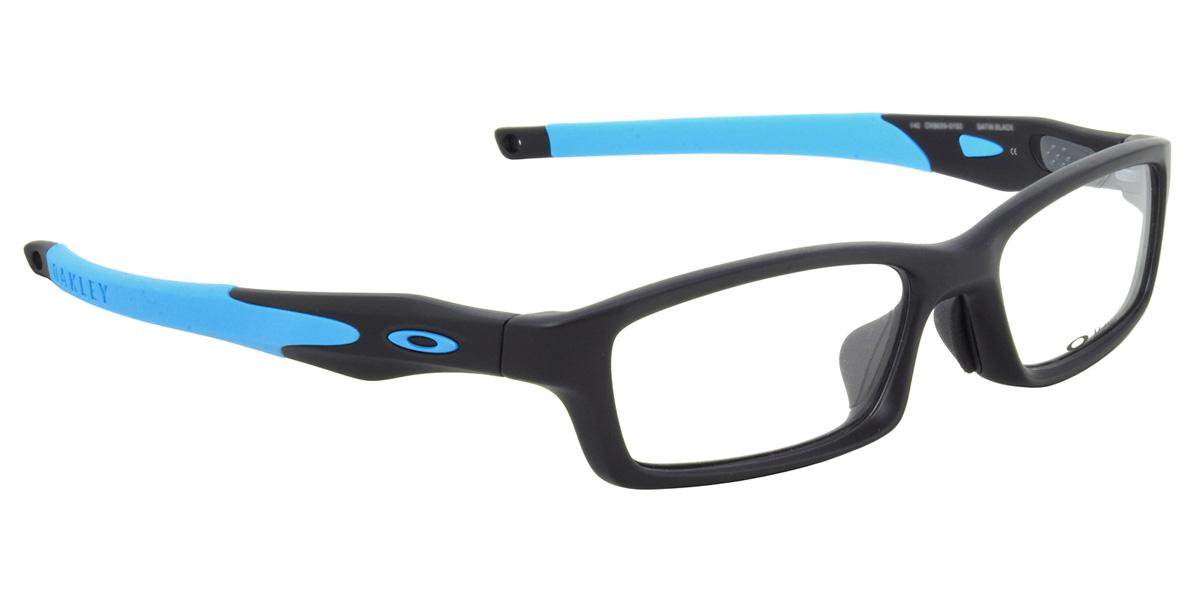 Optical Shop Thats: (OAKLEY) 眼鏡 OX8029 0156 交聯亞洲適合緞黑色天空藍交聯亞洲適合體育廣場奧克利 ITA 鏡片鏡頭自由 ...