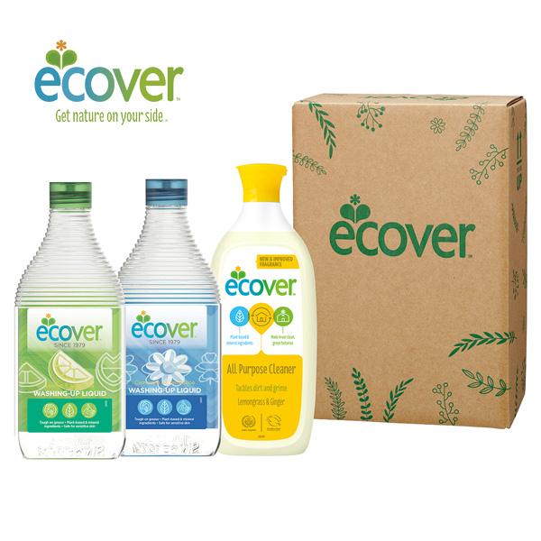 【楽天市場】【品薄】ecover エコベール 洗剤ギフト ECG20-7(食器洗剤レモン450ml×1、食器洗...