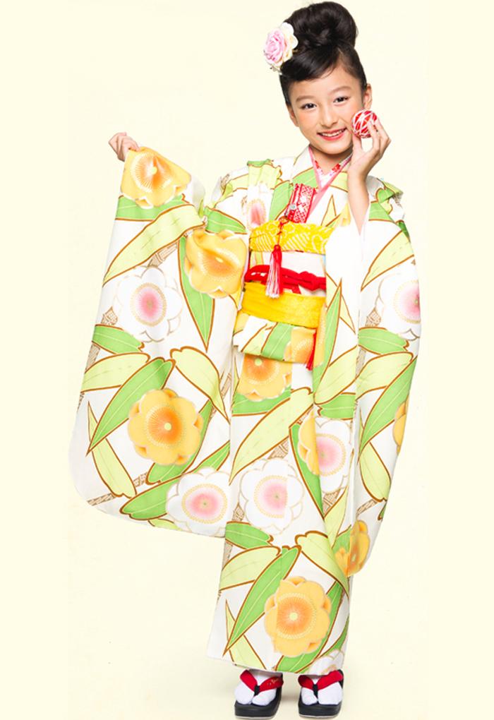 Yasuuritengoku Tosen: 供七五三兒童節日7歲和服純絲7歲7歲7歲7歲兒童使用的供女孩單物品高級小孩女兒小孩kids 753著 ...