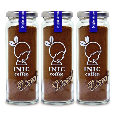 【楽天市場】《送料無料》イニックコーヒー INIC COFFEE ナイトアロマ 瓶 55g × 3個《あす楽...