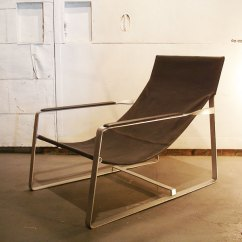 Lounge Chair Leather How To Fix A Glider Rocking Underground From Sale Rare Genuine Vintage Antique Industrial Design Hammock France Liking It Is