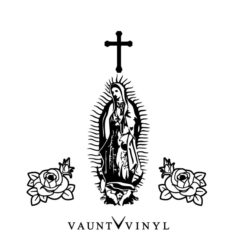 VAUNT VINYL sticker store: It is m-1 Rosary sticker