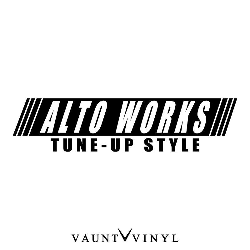 VAUNT VINYL sticker store: Artworks TUNE-UP STYLE stickers