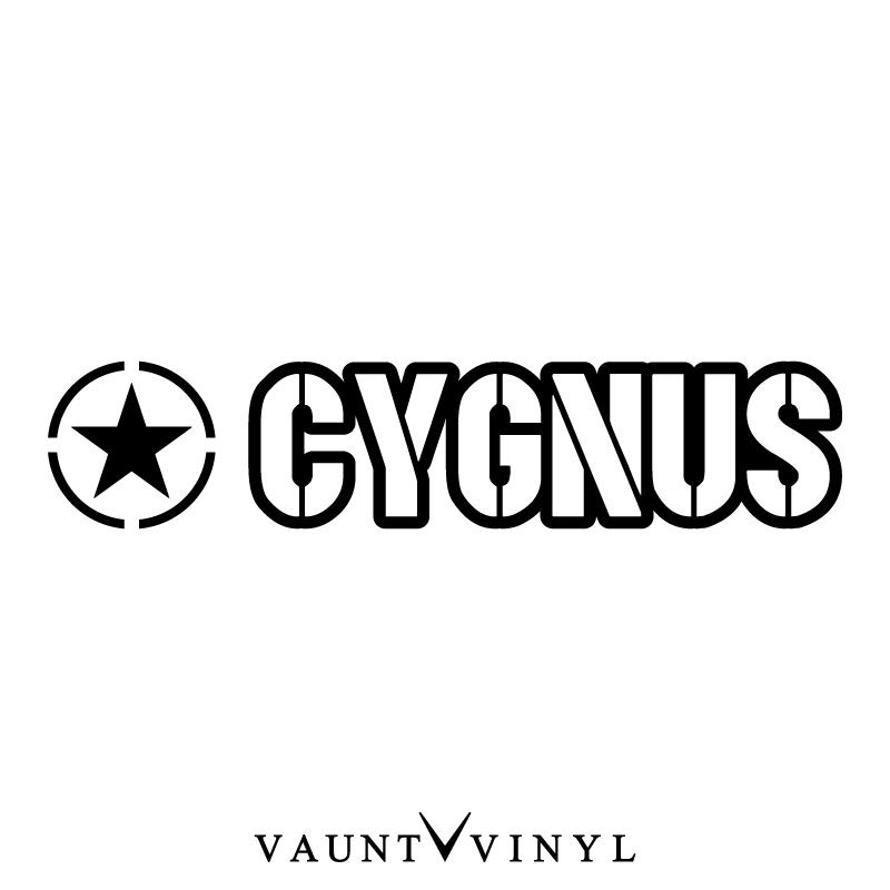 VAUNT VINYL sticker store: Military Cigna sticker Cigna