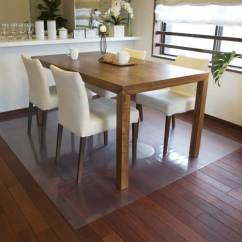 Custom Size Chair Mats For Carpet Vitra Eames Eiffel Dining Room Table Floor Mat - Ideas