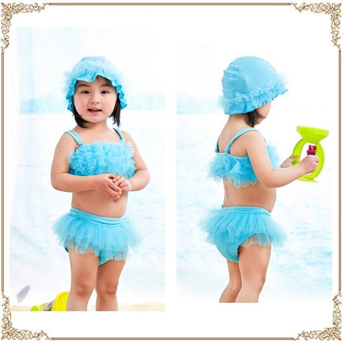 windyshop: 有小小孩泳衣嬰兒小孩女人的孩子女孩子蓋子的海水浴遊泳池90 100 110 120 130 02P03Dec16   日本樂天市場